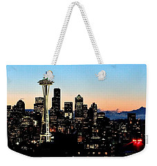 12th Man Sunrise Weekender Tote Bag by Benjamin Yeager