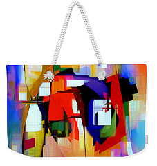 Abstract Series Iv Weekender Tote Bag