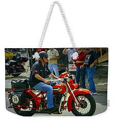13 On The Red Weekender Tote Bag