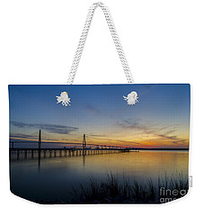 Peacefull Hues Of Orange And Yellow  Weekender Tote Bag by Dale Powell