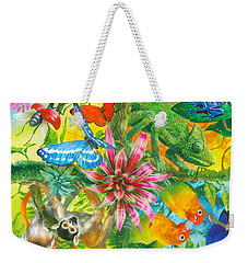 Wonders Of Nature Weekender Tote Bag