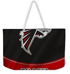 Atlanta Falcons Uniform Weekender Tote Bag