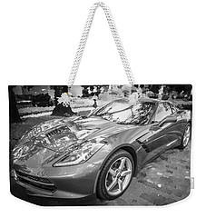 2014 Chevrolet Corvette C7 Bw   Weekender Tote Bag