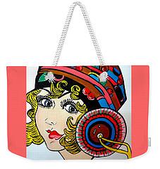 Art Deco  Ann Weekender Tote Bag