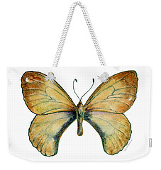 15 Clouded Apollo Butterfly Weekender Tote Bag