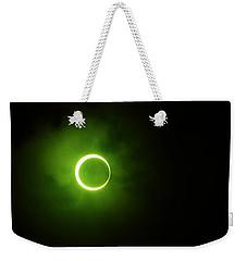 15 January 2010 Solar Eclipse Maldives Weekender Tote Bag