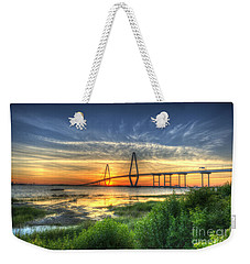 Lowcountry Sunset Weekender Tote Bag