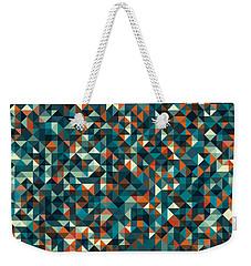 Retro Pixel Art Weekender Tote Bag