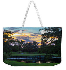 15th Green At Hollybrook Weekender Tote Bag