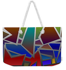 1624 Abstract Thought Weekender Tote Bag