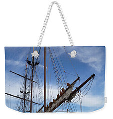 1812 Tall Ships Peacemaker Weekender Tote Bag by Lingfai Leung