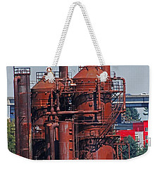 Weekender Tote Bag featuring the photograph 1880 Sci-fi by Tom Janca