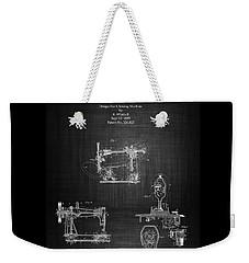 1885 Singer Sewing Machine Weekender Tote Bag