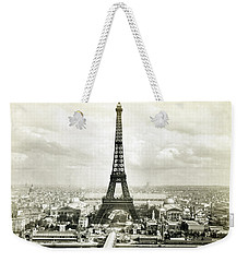 1889 Parisian Panorama Weekender Tote Bag by Historic Image