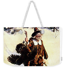 1900s Sunday Magazine Cover Silly Man Weekender Tote Bag