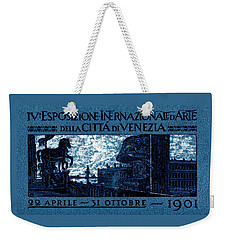 1901 Venice International Arts Exposition Weekender Tote Bag