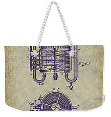 1909 Jett Whiskey Still Patent Weekender Tote Bag