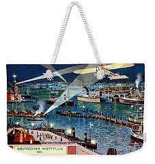 1911 German Air Race Weekender Tote Bag by Historic Image
