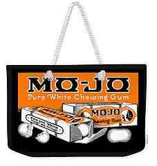 1915 Mo Jo Chewing Gum Weekender Tote Bag