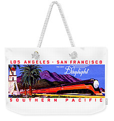 1922 Daylight Railroad Train Weekender Tote Bag