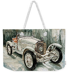 1923 Mercedes Ps Sport- Zweisitzer Weekender Tote Bag by Joey Agbayani