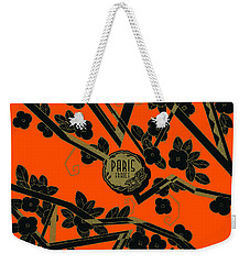 1925 Art Deco Paris France Perfume  Weekender Tote Bag by Historic Image