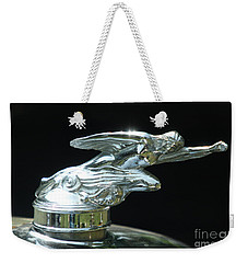 1928 Studebaker Hood Ornament Weekender Tote Bag