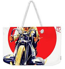 1929 - Bmw Motorcycle Poster - Color Weekender Tote Bag