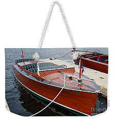 1930 Chris Craft Weekender Tote Bag