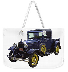 1930 - Model A Ford - Pickup Truck Weekender Tote Bag