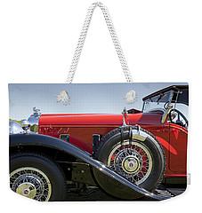 1932 Stutz Bearcat Dv32 Weekender Tote Bag