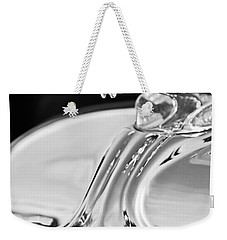 1933 Chrysler Imperial Hood Ornament 4 Weekender Tote Bag by Jill Reger