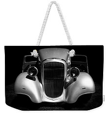 Weekender Tote Bag featuring the photograph 1934 Chevrolet 3 Window Coupe by Ben Shields