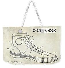 1934 Converse Shoe Patent Drawing Weekender Tote Bag