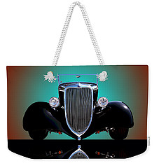 1934 Ford Phaeton Convertible Weekender Tote Bag