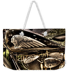 1934 Indian Chief Weekender Tote Bag