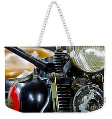 1936 El Knucklehead Harley Davidson Motorcycle Weekender Tote Bag