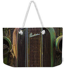 1936 Pontiac Head On Weekender Tote Bag
