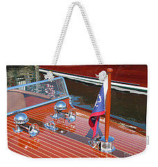 1937 Chris Craft Runabout Weekender Tote Bag
