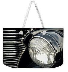 Weekender Tote Bag featuring the photograph 1938 Chevrolet Deluxe Sedan by Joseph Skompski