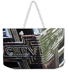 1938 Chevrolet Sedan Emblem Weekender Tote Bag