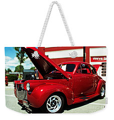 1940 Chevy Weekender Tote Bag by Kevin Fortier