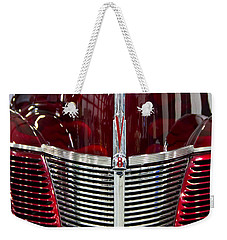1940 Ford V8 Grill  Weekender Tote Bag