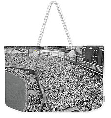1940s 1950s Large Crowd Yankee Stadium Weekender Tote Bag