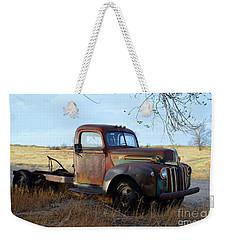 1940s Ford Farm Truck Weekender Tote Bag