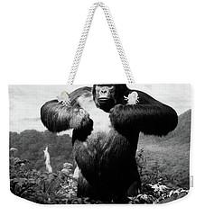 1940s Stuffed Gorilla Gorilla Gorilla Weekender Tote Bag