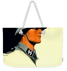 1941 - German Waffen Ss Recruitment Poster - Nazi - Color Weekender Tote Bag