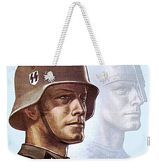 1943 - German Waffen Ss Recruitment Poster - Norway - Color Weekender Tote Bag