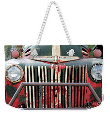 1946 Vintage Ford Truck Weekender Tote Bag by Fiona Kennard