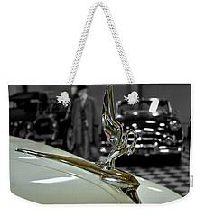 1947 Packard Hood Ornimate Weekender Tote Bag